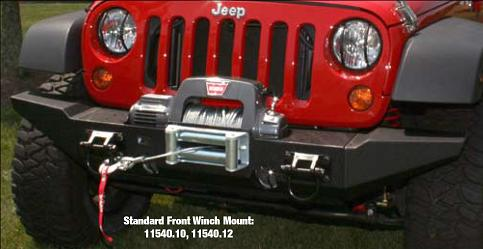 Full Length Bumper With Warn Powerplant Jeepforum Com